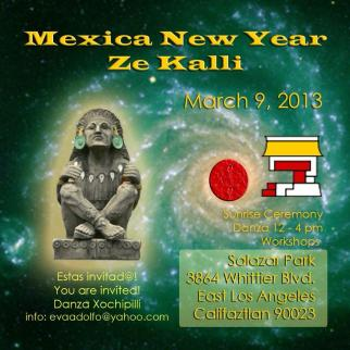 Mexica New Year: Ze Kalli