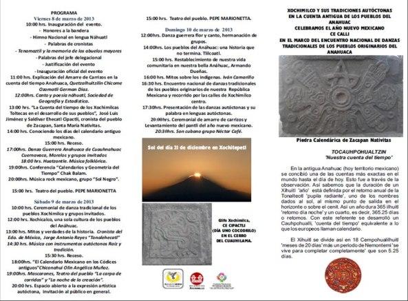 Año nuevo Xochimilco PROGRMA
