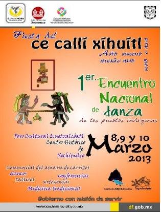 Año nuevo Xochimilco