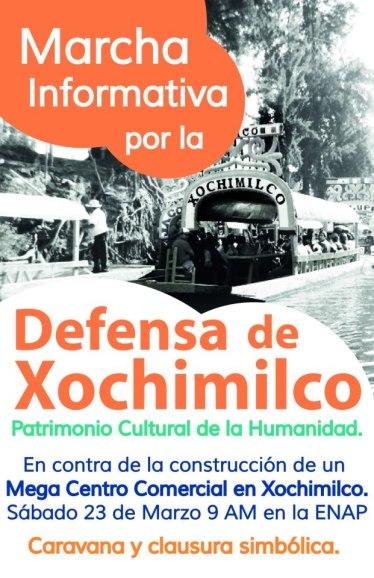 Xochimilco 23 marzo