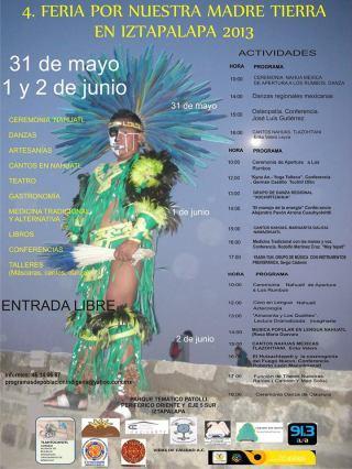 4a Feria por Nuestra Madre Tierra en Iztapalapa 2013