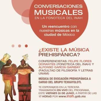 existe la musica prehispanica