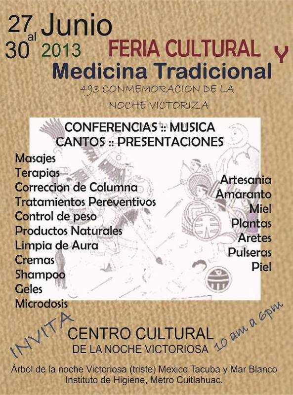 feria cultural medicina