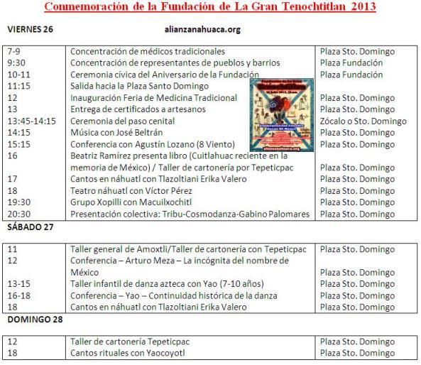Programa Santo Domingo