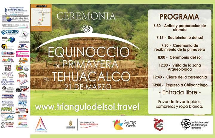 Equinoccio de Primavera, Tehuacalco | Alianza Anahuaca