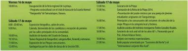 Feria Pitaya Oaxaca Programa