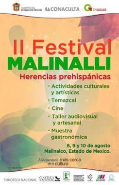 II Festival Malinalli, Herencias Prehispánicas
