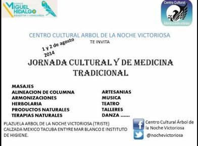 Jornada Cultural y de Medicina Tradicional