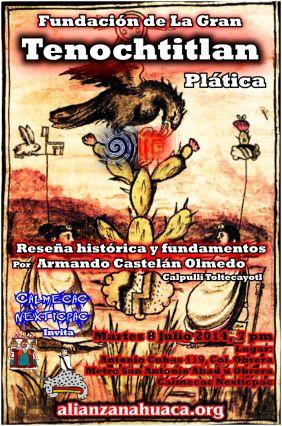 Fundacion Tenochtitlan Armando 2014