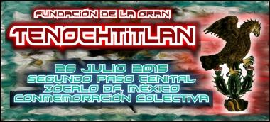 Fundacion Tenochtitlan 2015 Portada