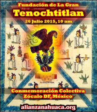 Fundacion Tenochtitlan 2015